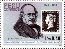 [The 150th Anniversary of the Penny Black, 1990, Typ AKO]