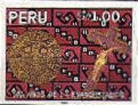 [The 500th Anniversary of Evangelization of Peru, type ALE]