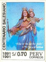 [The 100th Anniversary of Salesian Brothers in Peru, 1991, type ALF]