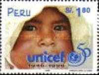 [The 50th Anniversary of UNICEF 1996, Typ AOT]