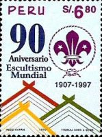 [The 90th Anniversary of Boy Scout Movement, Typ APF]