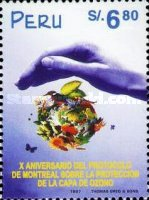 [The 10th Anniversary of Montreal Protocol on Reduction of use of Chlorofluorocarbons, Typ APH]