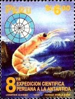 [The 8th Peruvian Scientific Expedition to Antarctica, Typ AQC]