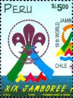 [The 19th World Scout Jamboree, Chile, type ARM]