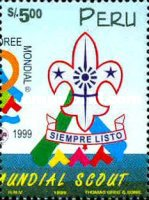 [The 19th World Scout Jamboree, Chile, type ARN]