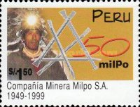 [The 50th Anniversary of Milpo S.A. Mining Company, type ARW]