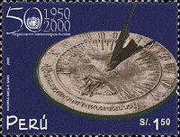 [The 50th Anniversary of World Meteorological Organization, type AUF]