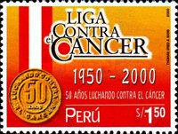 [The 50th Anniversary of League against Cancer, type AUR]