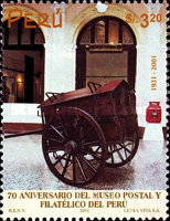 [The 70th Anniversary of Post and Philately Museum, Typ AVO]
