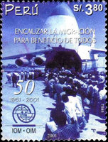 [The 50th Anniversary of International Organization for Migration, Typ AVV]