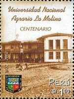 [The 100th Anniversary of La Molina Agricultural University, Typ AVX]