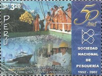 [The 50th Anniversary of National Fishing Society, Typ AXQ]