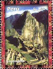 [World Heritage Site - Machu Picchu, Typ BAY]