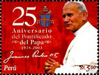 [The 25th Anniversary of Pope John Paul II's Pontificate, Typ BCG]