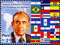 [The 40th Anniversary of Latin American Parliament, Typ BCP]