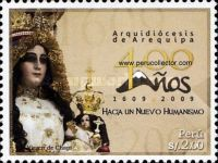 [The 400th Anniversary of the Archdiocese of Arequipa, type BVA]