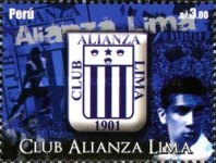 [Football Clubs of Peru - Club Alianza Lima, type BWD]