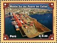 [South Pier of the Harbour of Callao, type BXA]