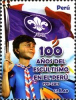 [The 100th Anniversary of Scouting in Peru, type BXC]