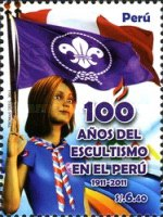 [The 100th Anniversary of Scouting in Peru, type BXD]
