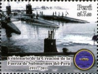 [The 100th Anniversary of the Submarine Forces of Peru, type BXG]