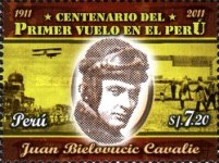 [The 100th Anniversary of the First Flight in Peru, type CAO]