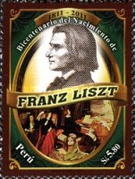 [The 200th Anniversary of the Birth of Franz Liszt, 1811-1886, type CAW]