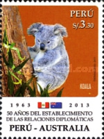 [The 50th Anniversary of Diplomatic Relations with Australia, type CBG]