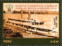 [The 150th Anniversary of the City of Iquitos, Typ CEP]