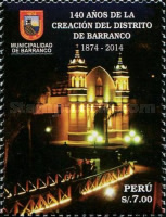[The 140th Anniversary of the District of Barranco, Typ CEQ]
