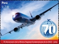 [The 70th Anniversary (2018) of the ICAO South American Regional Office - Lima, Peru, type CLG]