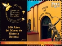 [The 100th Anniversary (2018) of the Natural History Museum - Lima, Peru, type CLH]