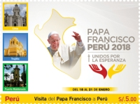 [Pope Francis Visits Peru 2018, type CLN]