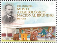 [The 100th Anniversary of the Bruning National Archaeological Museum, Typ CMW]