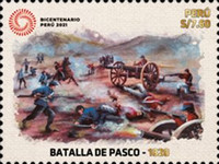 [The 200th Anniversary of the Battle of Pasco, type CNV]