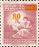 """[Various Stamps Overprinted """"Habilitado Franq. Postal"""" and Surcharged, Typ EQ13]"""
