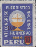 """[Various Stamps Overprinted """"Habilitado Franq. Postal"""" and Surcharged, Typ EQ14]"""