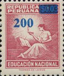 """[Various Stamps Overprinted """"Habilitado Franq. Postal"""" and Surcharged, Typ EQ17]"""