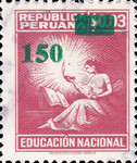 "[Various Stamps Overprinted ""Habilitado Franq. Postal"" and Surcharged, type EQ19]"