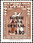 [Various Stamps Surcharged, Typ EQ2]
