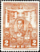 [The 100th Anniversary of the Death of Simon Bolivar, 1783-1830, Typ EV]
