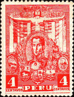 [The 100th Anniversary of the Death of Simon Bolivar, 1783-1830, type EV1]