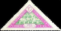 [The 1st Peruvian Philatelic Exhibition - Lima, Peru, type EX1]