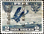 """[Airmail - Overprinted """"Habilitado"""" and Surcharged, Typ FN2]"""