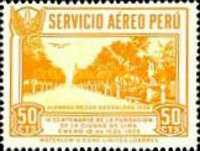 [Airmail - The 400th Anniversary of Founding of Lima, Typ FY]