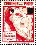 """[Various Stamps Overprinted """"Habilitado Franq. Postal"""" and Surcharged, Typ HX3]"""
