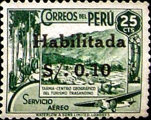 """[Airmail - Issues of 1938 Overprinted """"Habilitada S/o."""" and Surcharged, type II3]"""