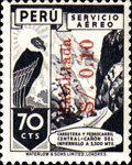 """[Airmail - Issues of 1938 Overprinted """"Habilitada S/o."""" and Surcharged, type IL1]"""