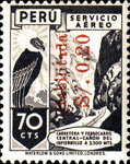 """[Airmail - Issues of 1938 Overprinted """"Habilitada S/o."""" and Surcharged, type IL3]"""