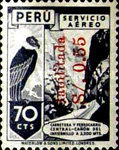 """[Airmail - Issues of 1938 Overprinted """"Habilitada S/o."""" and Surcharged, type IL4]"""